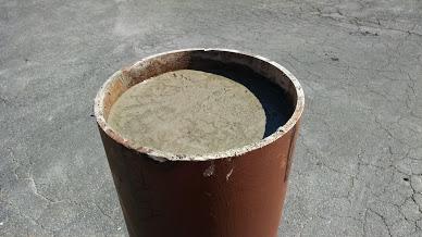 typical steel bollard