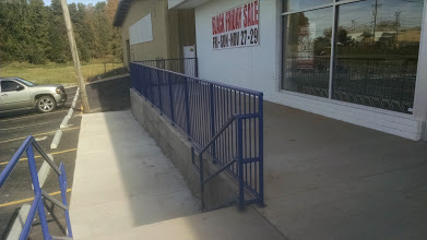 blue Steel ADA handrail