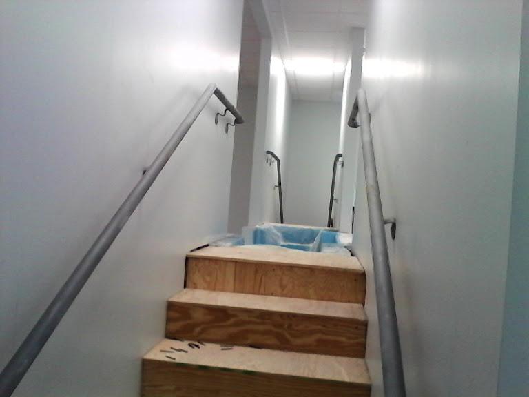handrails for church in Salisbury NC